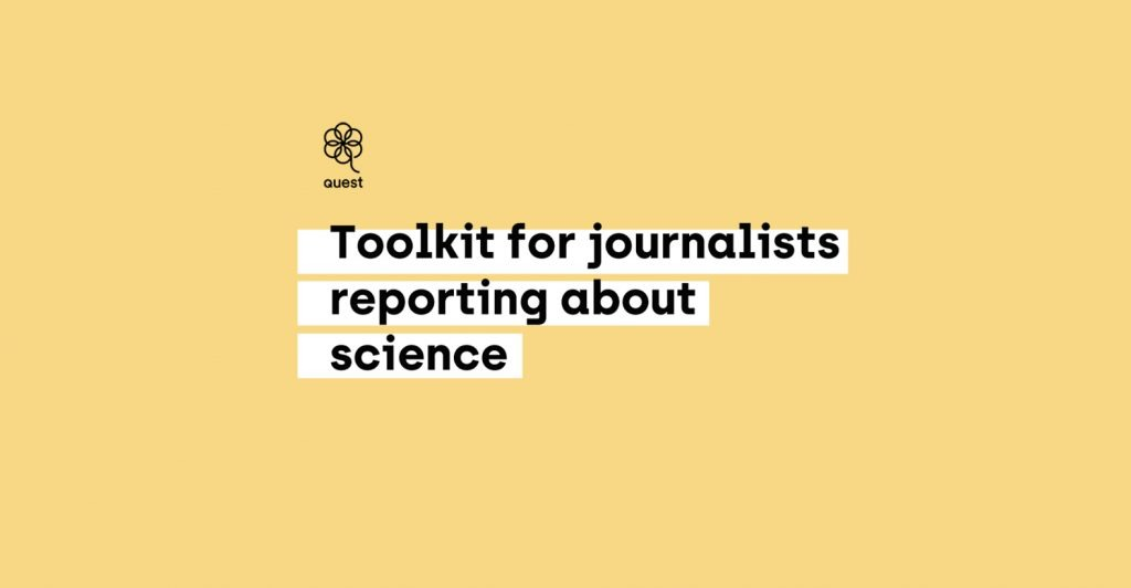 Presentation: Toolkit for journalists reporting on science