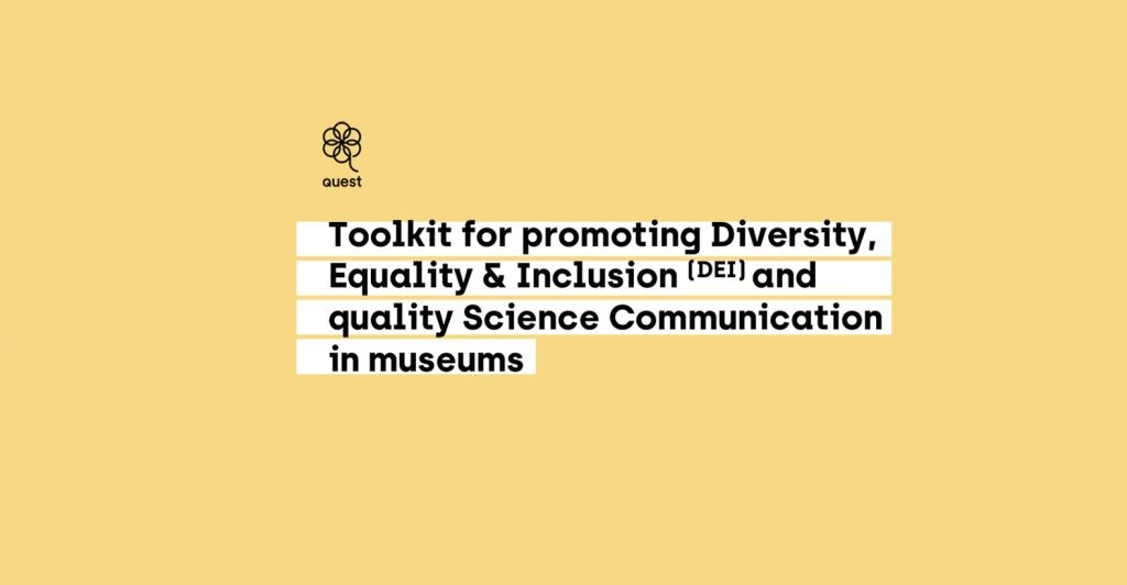 Presentation:Toolkit for promoting DEI and quality science communication in museums