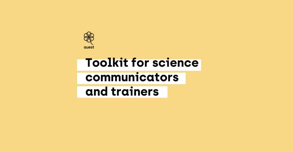 Presentation:Toolkit for science communicators and trainers